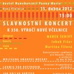 Jarní koncert v Nové Včelnici